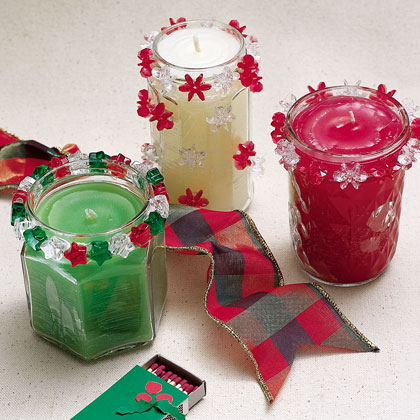 17 november 2009 shoe string xmas 39 s blog for Christmas candle gift ideas